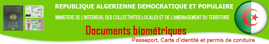 Passeport Biometrique Algerien